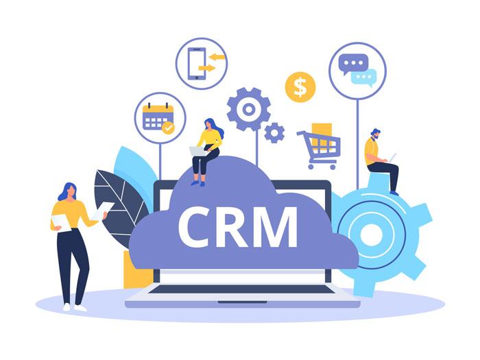 کاربرد نرمافزار CRM برای انواع مشاغل
